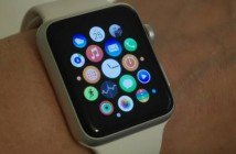 Apple Watch am Handgelenk