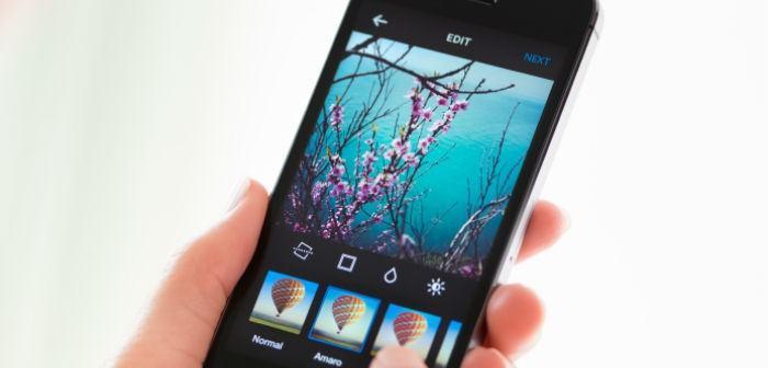Bildbearbeitung am Smartphone