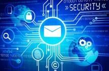 Digital erstelltest Bild zur Illustration von Online Sicherheit