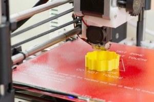 Detailaufnahme 3D-Drucker