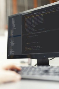 Programmieren am Monitor