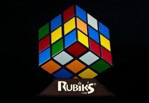 Rubiks Cube Lampe