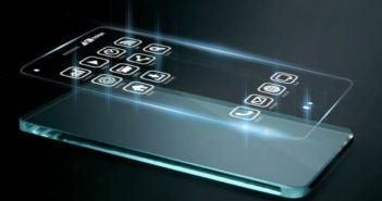 Drei dimensionale Apps auf dem Smartphone-Bildschirm