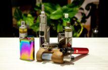 Auswahl an verschiedenen E-Zigaretten