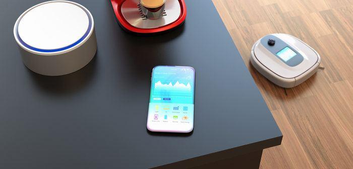 Smart-Home mit Alexa auf Tisch