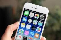 iPhone mit iOS