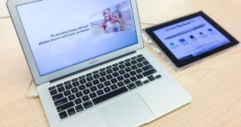 macbook neben ipad